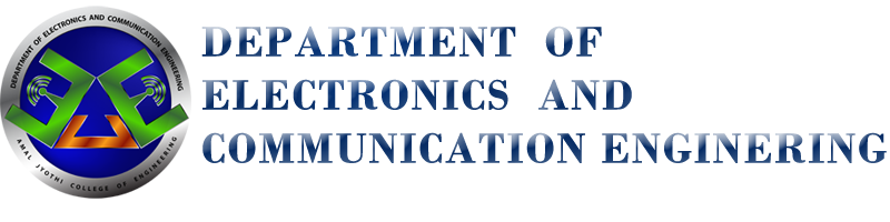 Department of  Electronics and Communication Engineering