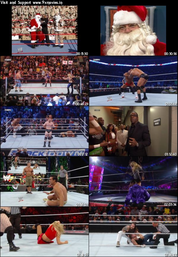 WWE Ring In The Holiday 2015 DVDRip 480p x264 650mb
