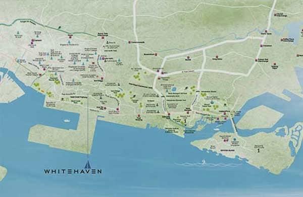 Whitehaven @ Pasir Panjang Location Map
