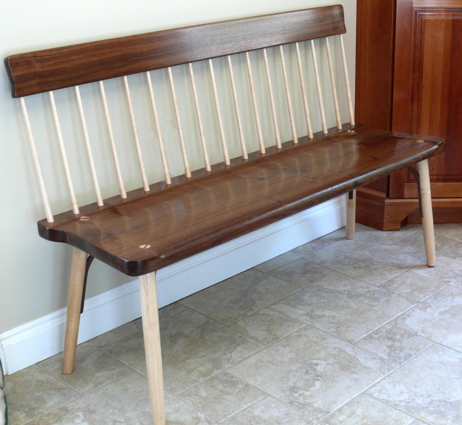 Rich 39 S Woodcraft Shaker Bench Gets My Own Twist