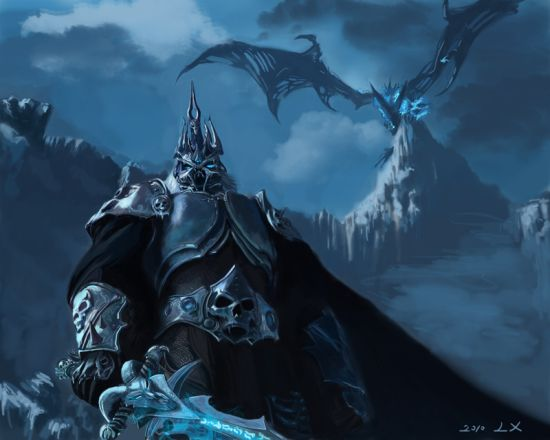 Liang Xing fantasy games illustrations Blizzard (World of Warcraft, Starcraft, Diablo)