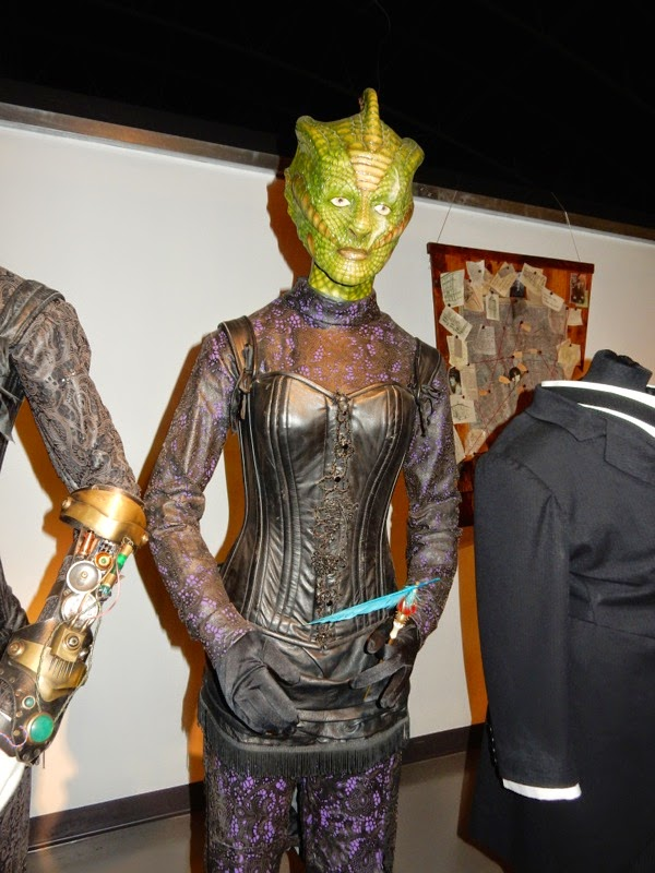Neve McIntosh Madame Vastra Doctor Who Deep Breath costume