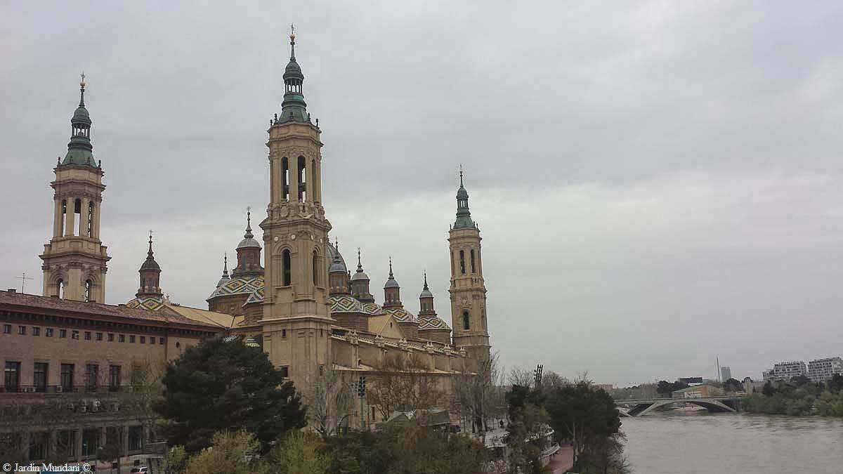 Sangrando En Verde Zaragoza Con El Ebro Y El Pilar Era