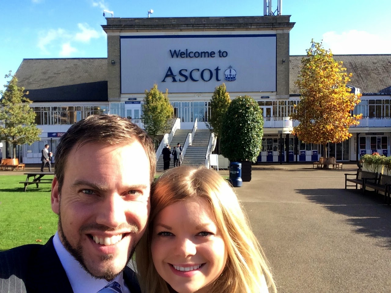 Claire and I at Ascot - Ascot Fine Dining 2015