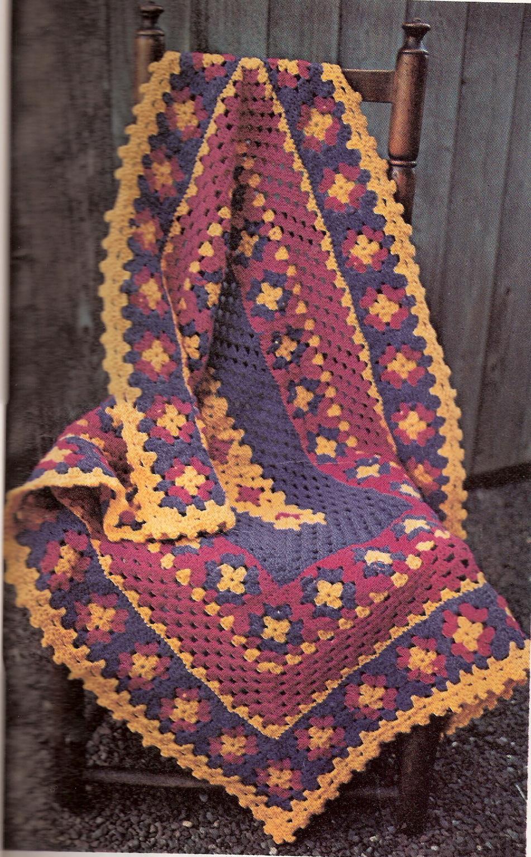 1486.-Square crochet / Ganchillo cuadrado - Labores en red