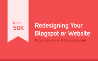 Redesign Blogspot or Wordpress