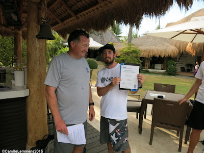 Testimonial by Matt of the May 2015 PADI IDC in Moalboal, Philippines