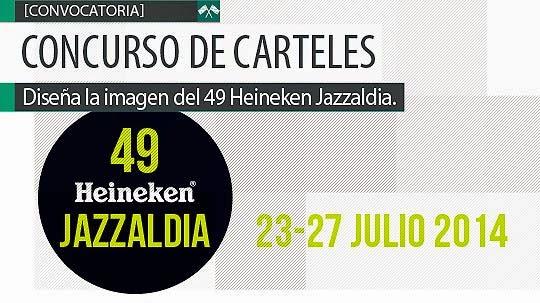 Convocatoria. Diseña el cartel del Heineken Jazzaldia
