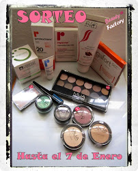 "Sorteo en el blog ""Beauty Factory"""