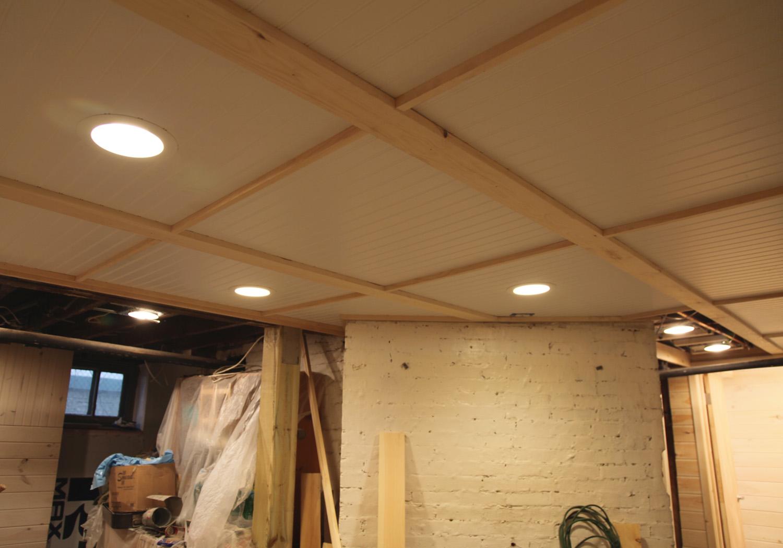 Ceiling tile install per sq. ft. cost Fine Homebuilding Breaktime