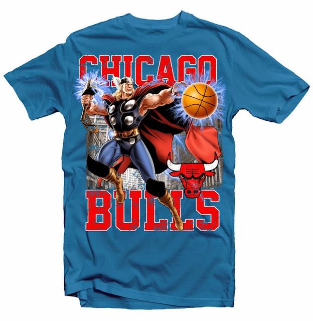 chicago bulls thor design