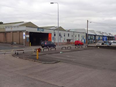 Cadriff Bus Depot