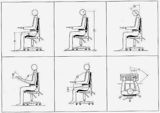 La ergonomia la antropometria for Antropometria y ergonomia