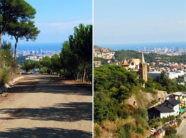 Wzgórze Tibidabo Barcelona