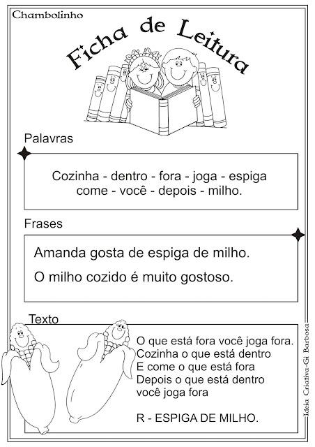 Ficha de Leitura Adivinhação