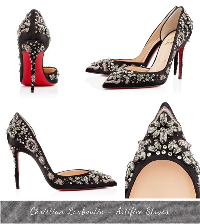 Christian Louboutin D'Orsay Shoes, Artifice Strass, Fall Winter 2013