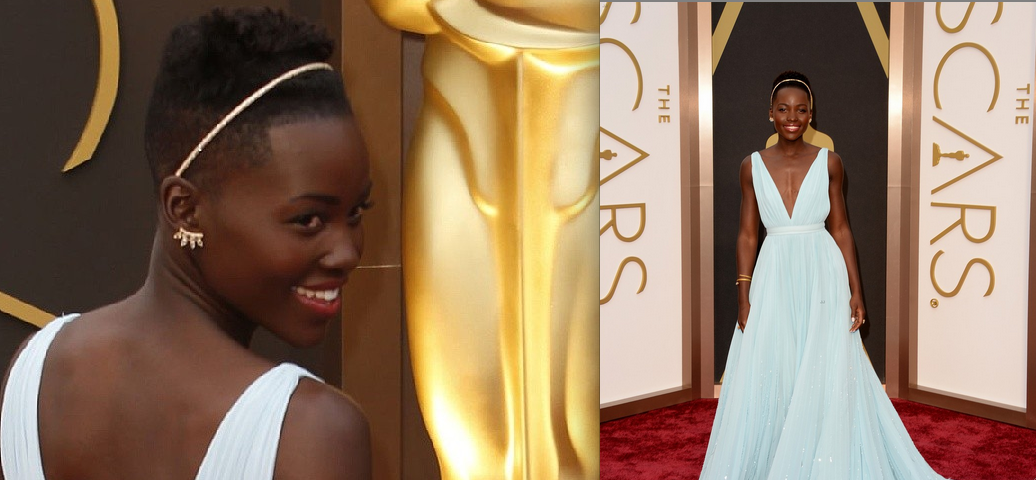 Lupita Nyong'o, Prada, Oscars, Red Carpet, 12 Years  A Slave