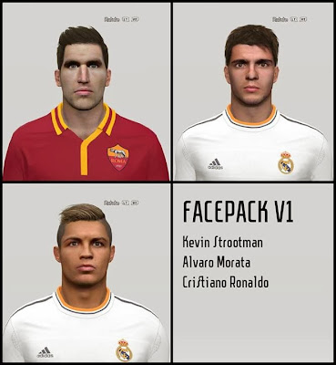 PES 2014 Facepack V1 by Hamarzuki