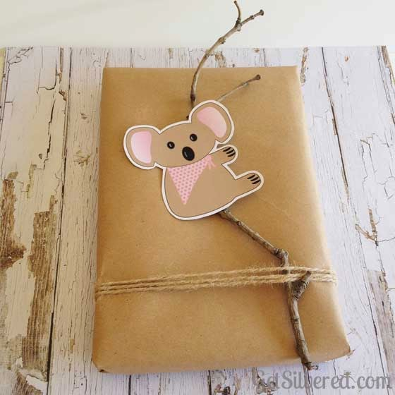 Cute Koala Free Silhouette File