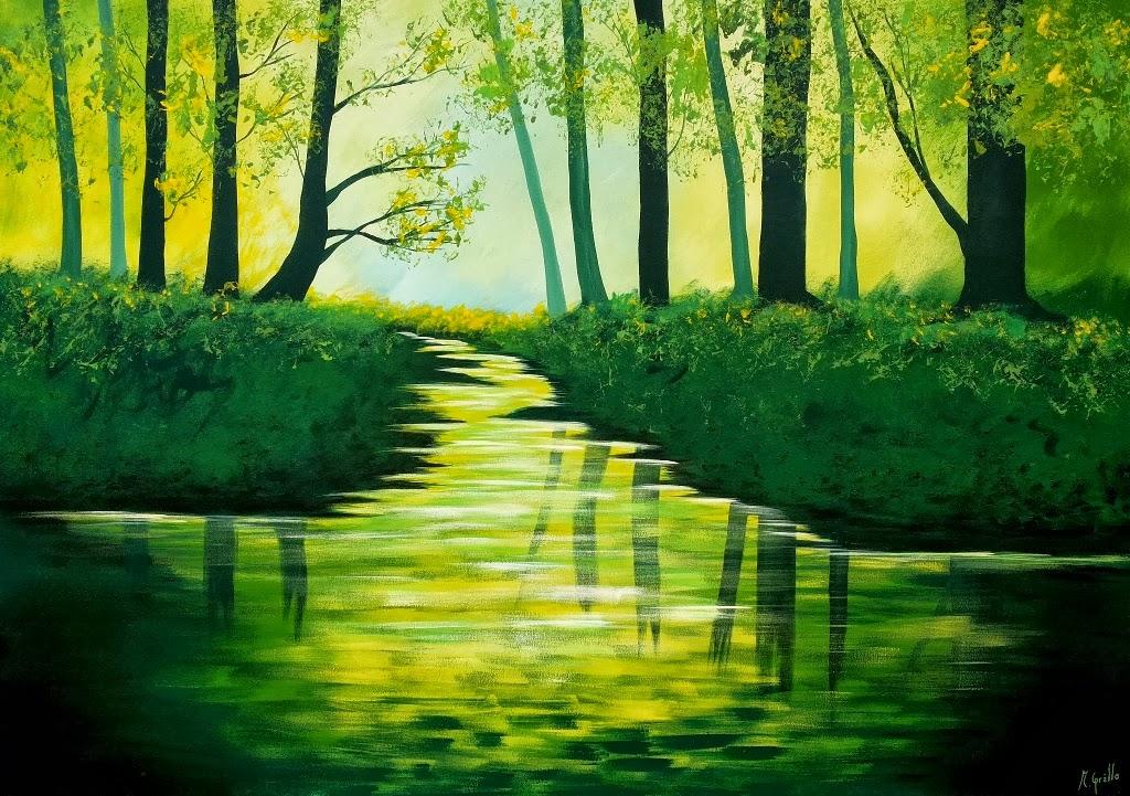 Pinturas abstractas modernas con textura imagui for Imagenes de cuadros abstractos faciles