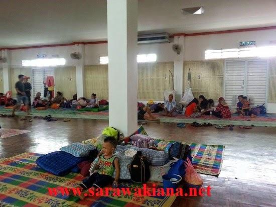 Terkini Jumlah Mangsa Banjir Di Sarawak Semakin Berkurangan