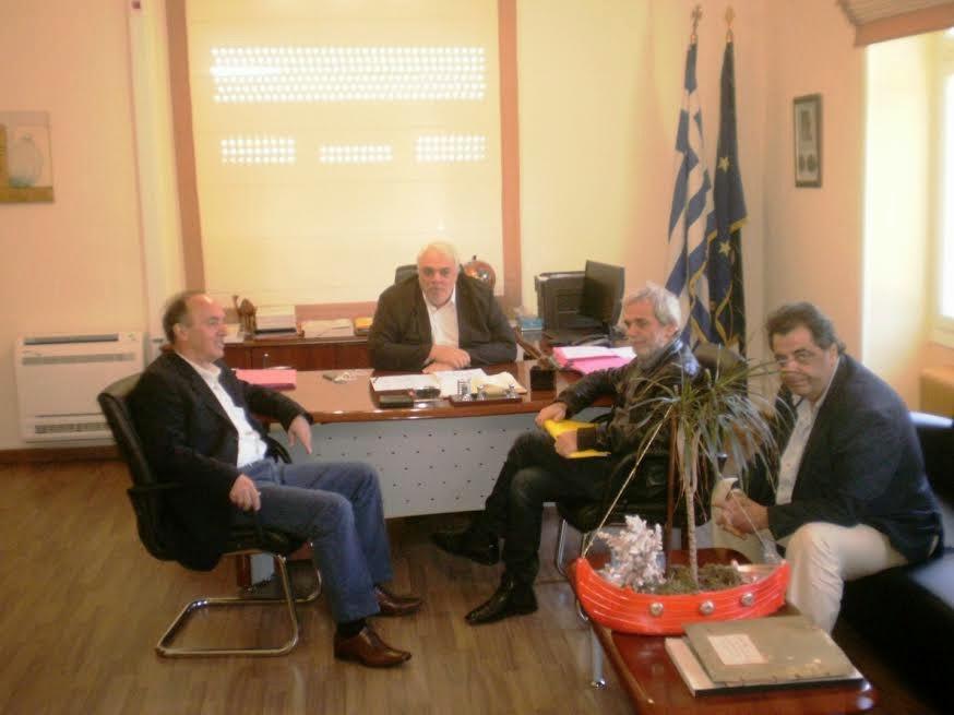 Συνάντηση του Αντιπεριφερειάρχη Αττικής με τον Δήμαρχο Αγίων Αναργύρων- Καματερού