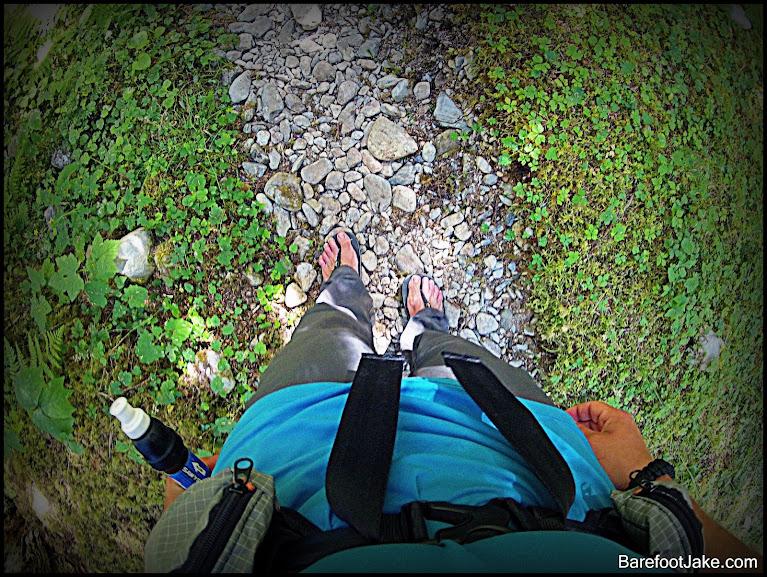 minimalist rock trail