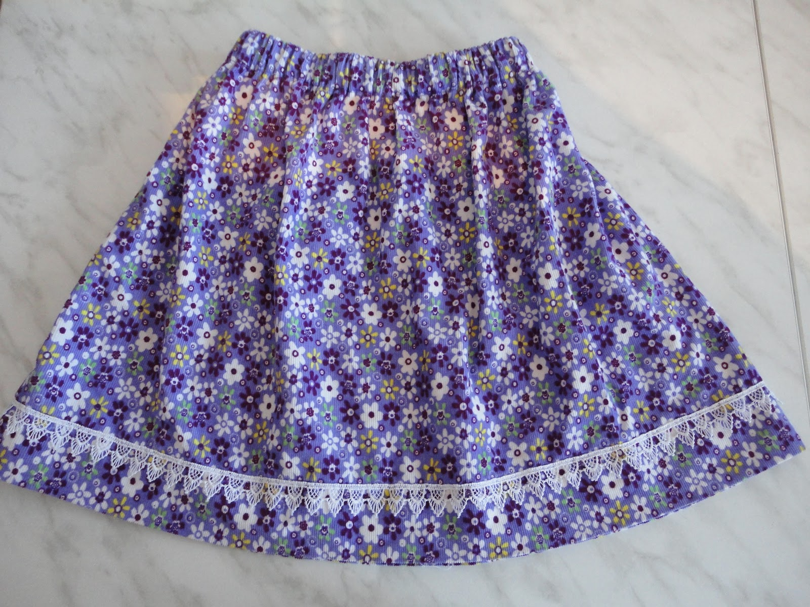 Как сшить юбку для себя и дочки 106