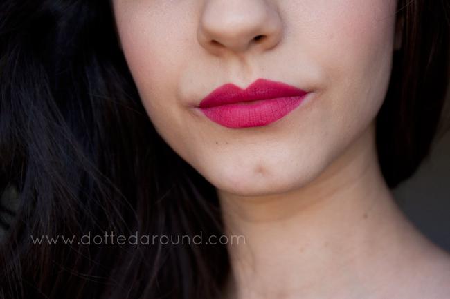 mac all fired up lipstick swatch