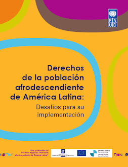 """Para a publicação """"Derechos de la población  afrodescendiente de América Latina"""", clique:"""
