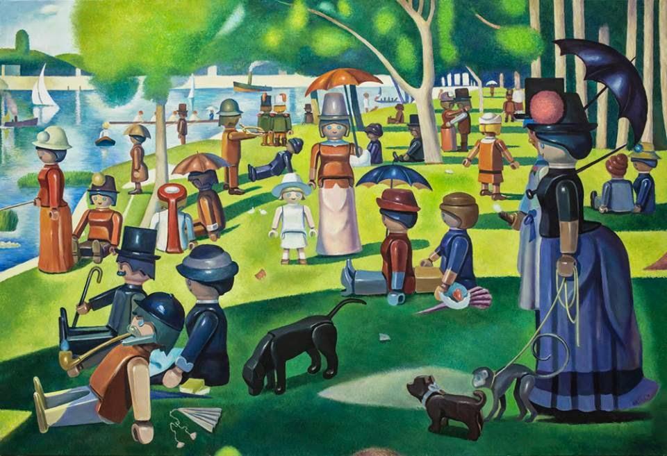01-A-Sunday-on-La-Grande-Jatte-Pierre-Adrien-Sollier-Playmobil-www-designstack-co