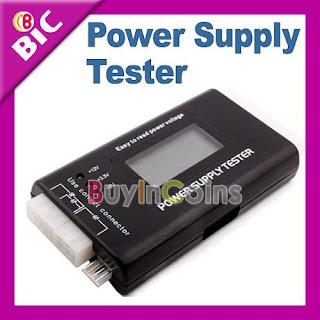 PC LCD 20/24 Pin PSU ATX SATA HD Power Supply Tester