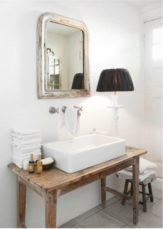 Decoracion De Baños Humildes:Bathroom Vessel Sink Tables