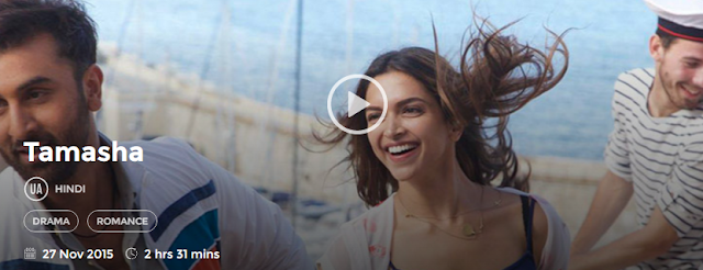 Tamasha (2015) Full Hindi Movie Download free in HD mp4 720p 3gp hq avi