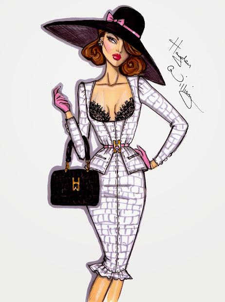 melek's fashion fash drawng