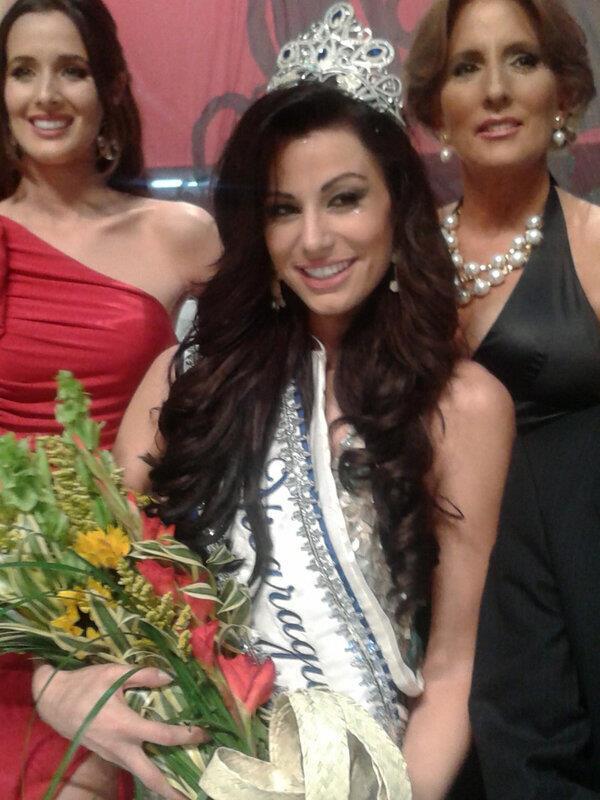 Miss Nicaragua 2013 winner Nastassja Bolivar