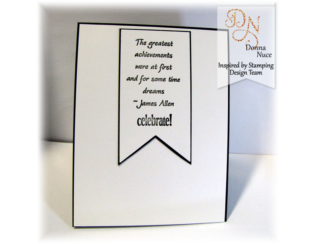 Inspired by Stamping, Crafty Colonel, Butterfly Wings, Teeny Tiny Greetings, Graduation Card