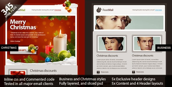 Christmas Corporate Email Template