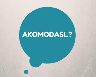 Pengertian Akomodasi | Bentuk-Bentuk & Contoh Akomodasi