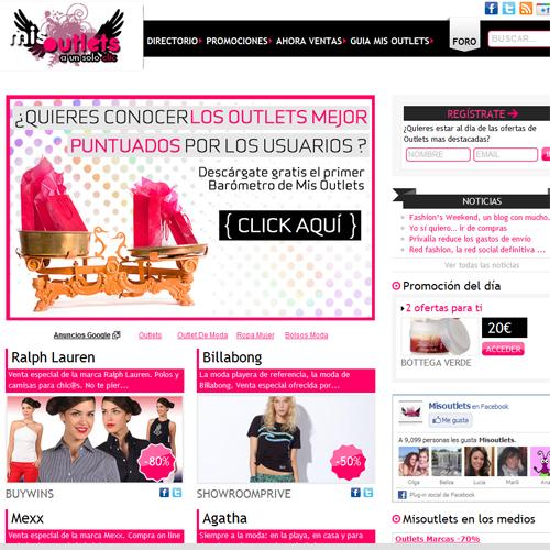 MisOutlets clubs privados outlets y tiendas online