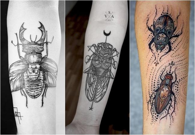 Tatuagem Insetos