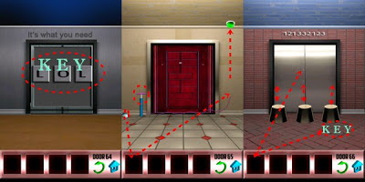 100 Doors Level 64 64 66 Walkthrough & 100 Doors Walkthrough Level 64 65 66 - Answers Escape Game Android