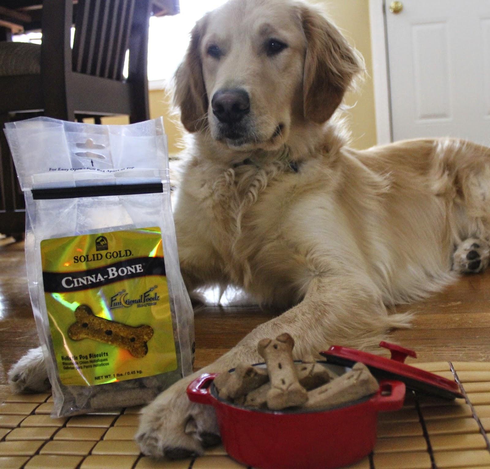 dog and Cinna-Bone dog biscuits