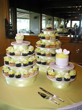 cup cake towers