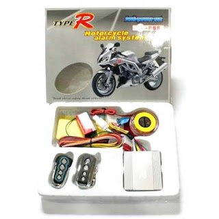 Alarm anti maling sepeda motor