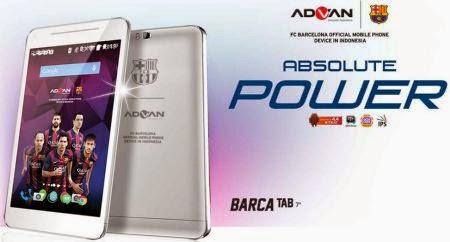 Advan Barca Tab 7 And Advan Barca 5 Inch Smartphone For