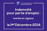 TOUT savoir sur Indemnité pour Perte d'Emploi (IPE) au maroc