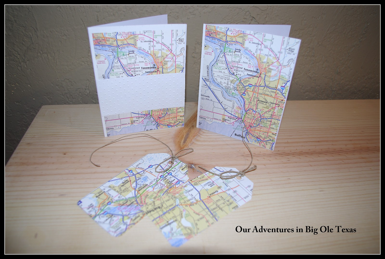 how sweet it is make cool things with maps cards tags boys room decor. Black Bedroom Furniture Sets. Home Design Ideas