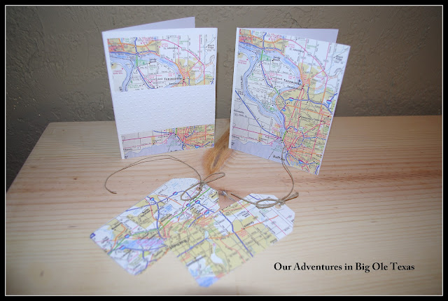 How Sweet It Is Make Cool Things With Maps Cards Tags