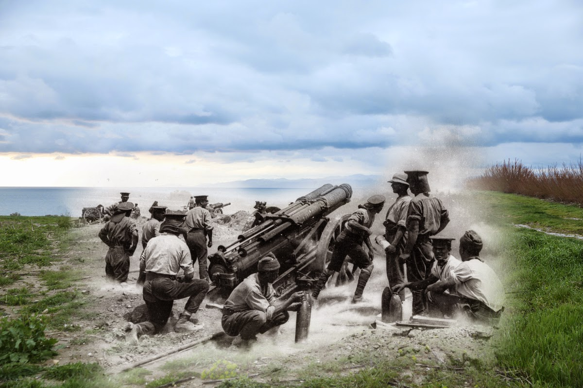 Gallipoli Campaign: Overlay Images Show The First World ...